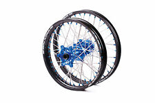 SM PRO PLATINUM MOTOCROSS WHEEL SET YAMAHA YZ YZF FRONT 21X1.60 REAR 19X1.85