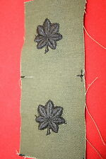 ORIGINAL VIETNAM SUBDUED CLOTH LT LIEUTENANT COLONEL RANK BADGES INSIGNIA