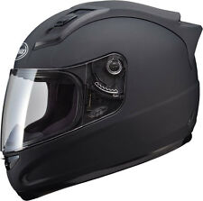 Gmax GM69 Solid Full Face Street Sport Bike Motorcycle Helmet MEDIUM Flat Black