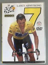 Le Tour De France 2003 Lance Armstrong DVD
