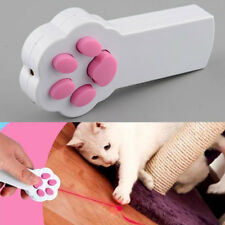 Funny Pet Cat Dog Interactive Automatic Red Laser Pointer Claw Exercise Toy