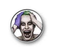 "THE JOKER / 1"" / 25mm pin button / badge / DC comics / antihero / Suicide Squad"