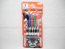 NEW 5 Colors ZEBRA SARASA Clip KUMAMON 0.5mm Roller ball Pen HK Limited (Japan