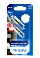 Philips H6W WhiteVision Ultra Blue Vision Standlicht DUO 12036WVB2 +SUPER PREIS+