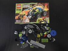 Lego 8188 Power Miners Fire Blaster Near Complete Used Retired w/ Instructions