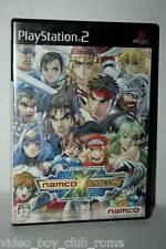 NAMCO X CAPCOM GIOCO USATO SONY PS2 EDIZIONE GIAPPONESE JAPAN NTSC/J 37261