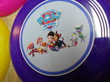 12ct PAW PATROL mini frisbees~ birthday party favor, goodie bag, prize