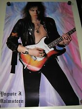 "Yngwie Malmsteen / Orig.vintage Poster #8150 / ""1986"" /  Exc.New cond."