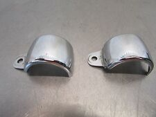 O KAWASAKI VULCAN CUSTOM VN 800 2003 Chrome Front Turn Signal Mounting Clip Cove