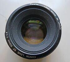 Canon EF EF 50mm 50mm f/1.4 USM Lens - BROKEN, AF NOT WORKING - READ FIRST!