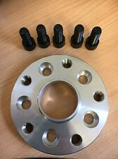 Used - 5x100 to 5x112 Hubcentric Adapter 20mm, 57.1CB StSteel threads - Single