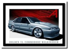 QUALITY CANVAS ART PRINT Holden Walkinshaw `walky' Vl commodore 45cm poster