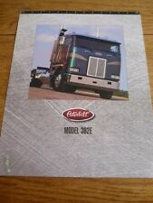 PETERBILT MODEL 362E  LORRY TRUCK SALES SHEET/'BROCHURE' JUNE 1995