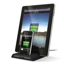 Xtrememac Dual Charger Base for iPhone 4, 4S, iPad 2G 3G 4G & iPod Touch 4G