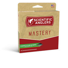 SCIENTIFIC ANGLERS MASTERY COMPETITION NYMPH .022 #0-5 WEIGHT FLY LINE IN BAMBOO