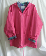 Thermal-Slicks Hooded Rain Jacket Pink MEDIUM Womens