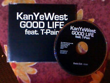 KANYE WEST FEATURING T-PAIN GOOD LIFE: PROMO 1 TRACK IN JEWEL CASE RARE