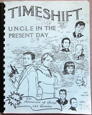 "Man From Uncle Fanzine ""Timeshift 1, 2, 3, 5"" GEN"