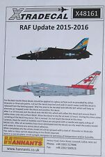 Xtradecal 1/48 X48161 RAF 2015 - 2016 Update Decal Sheet