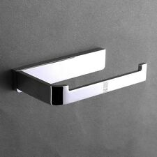 Novelty Contemporary Chrome Finish Solid Brass Wall Mounted Toilet Paper Holder