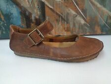 Clarks Original Distress Leather Mary Jane US 7.5N exact fit & rare!