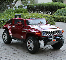 Hummer HX 12V Electric Power Ride On Kids Toy Car Truck w/ Parent Remote - Red