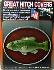 """Trophy Bass - 2"""" Trailer Hitch Cover"""