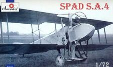SPAD S.A. 4 (S.A. IV) - WW I FIGHTER (RUSSIAN AF MARKINGS) 1/72 AMODEL