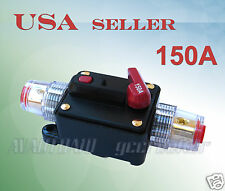 150A Car Audio Inline Circuit Breaker Fuse for 12V System Protection