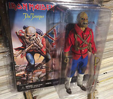 "EDDIE Iron Maiden the TROOPER figure NEW MOC Retro Style 8"" Clothed NECA 2014"