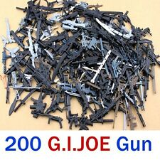 "Lot 200 Pcs Accessories randomly For 3.75"" Gi joe Cobra g.i joe Action Figures"