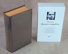 LA PLEIADE : BORGES / OEUVRES COMPLETES 1 - 1993
