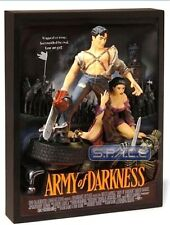 RARE Army of Darkness movie poster Code 3 Collectibles 3D sculpture  MIP
