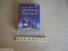 G.P.TAYLOR SHADOWMANCER READ BY ROBERT GLENISTER - 4 TAPE FANTASY AUDIO BOOK