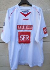 VINTAGE Maillot porté DISTRICT TOULOUSE Haute Garonne SFR match worn shirt XL