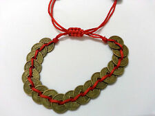 Feng-Shui Coin Bracelet for Wealth and Success