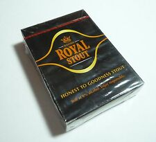 MALAYSIA Playing Cards ROYAL STOUT Beer Honest to Goodness 8% Carlsberg 2009
