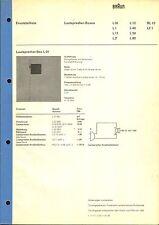 Marrone Service Manual per l 01/l 1/11/12/40/50/60/rl 10 e le 1