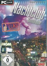 PC CD-ROM + Nachtclub Simulator + Bar + Disco + 3D Wirtschaftssimulation + Win 8