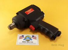 "3/4"" Twin Hammer Air Impact Wrench 3/4 Impact Gun 1600 Ft LBS Lifetime Warranty"