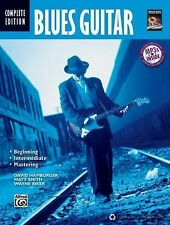 Blues Guitar Method Complete (Book & MP3 CD) (Complete Method)-ExLibrary