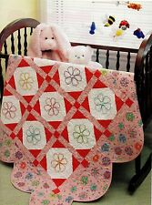 "Sweet Baby Jane's Garden   Finished  Size-44-1/2""x44-1/2""     Quilt Pattern Only"