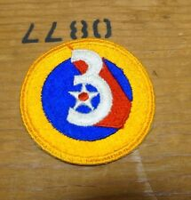 WW2 3RD ARMY AIR FORCE FULL COLOR PATCH (A2131)