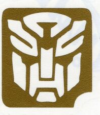 GT25 Body Art Temporary Glitter Tattoo Stencil Transformers
