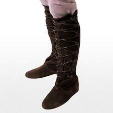 Robin Hood. Brown Medieval Boots. Perfect For Re-enactment Stage & LARP   #SALE#