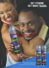 "Right Guard Xtreme ""Dave Chappelle"" 2002 Magazine Advert #3971"