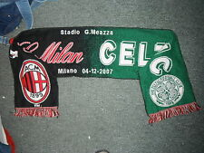 Celtic V AC Milan Football Supporters Scarf