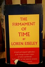 The Firmament of Time (Loren Eiseley, 1960  First Edition Hardcover w/DJ)