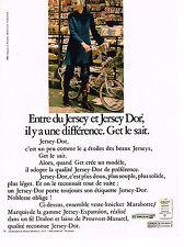 PUBLICITE ADVERTISING 064  1970  LAINIERE DE ROUBAIX  JERSEYS-DOR fil DRALON 2