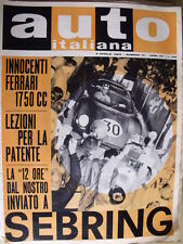 Auto Italiana 14 1963 Innocenti Ferrari 1750 CC - La 12 ore a Sebring  [SC.7]